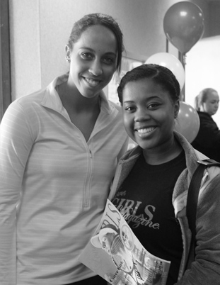 Jasmine Babers and Madison Keys Image