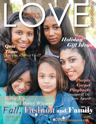 Image representing the Fall 2014 cover of Love Girls DC