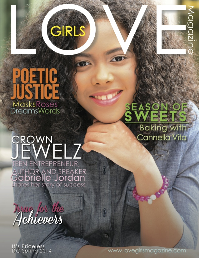 Image representing the Spring 2014 cover of Love Girls DC