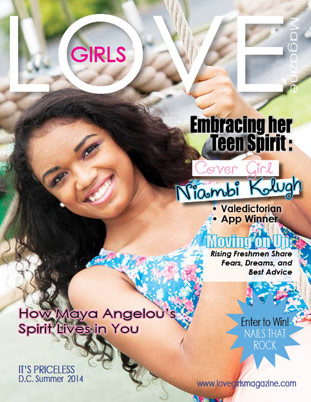 Image representing the Summer 2014 cover of Love Girls DC