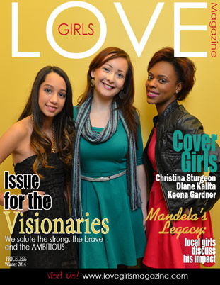 Image representing the Winter 2014 cover of Love Girls DC