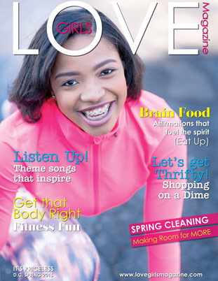 Image representing the Spring 2015 cover of Love Girls DC