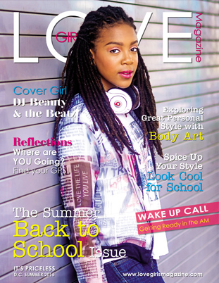 Image representing the Summer 2015 cover of Love Girls DC