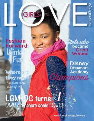 Image representing the Winter 2015 cover of Love Girls DC