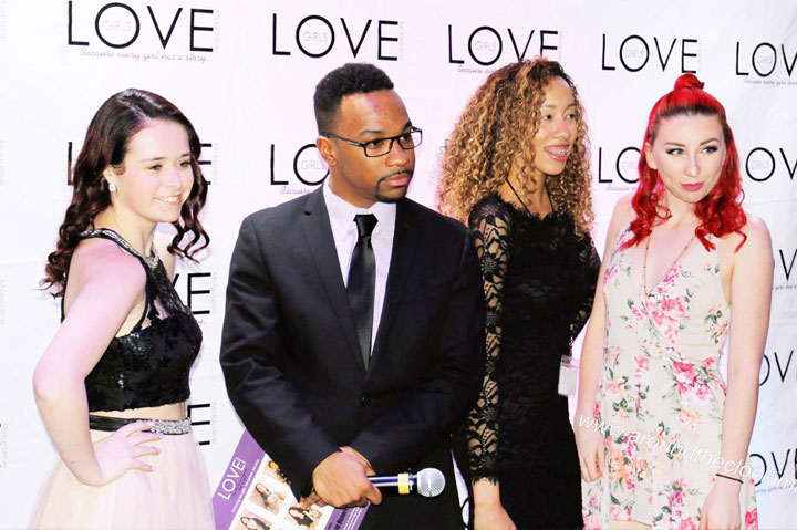 Photo from the Red Carpet at the Love Awards